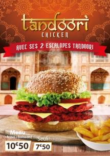 Affiche Tandoori Chicken